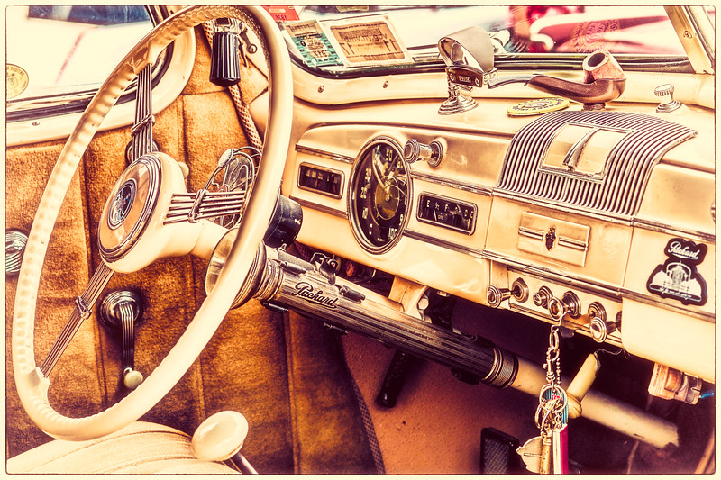 Vintage Packard Interior