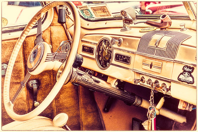Vintage Packard Interior