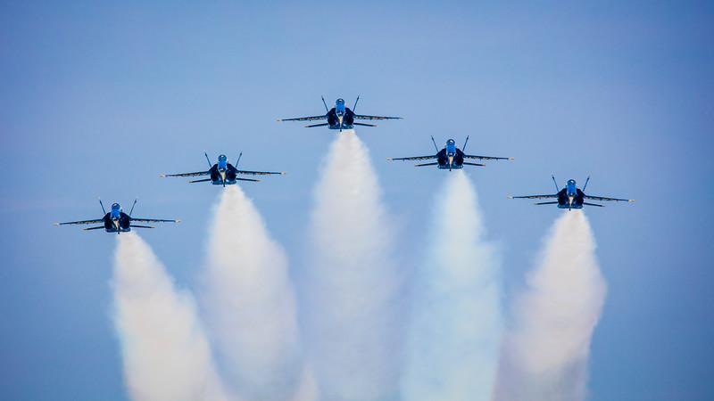 Five Angels Overhead