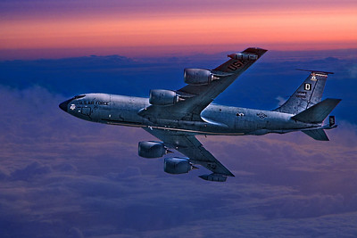 USAF Supertanker On Dawn Patrol