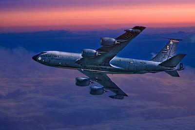 USAF Supertanker On Dawn Patrol