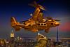 Steampunk Osprey Gunship