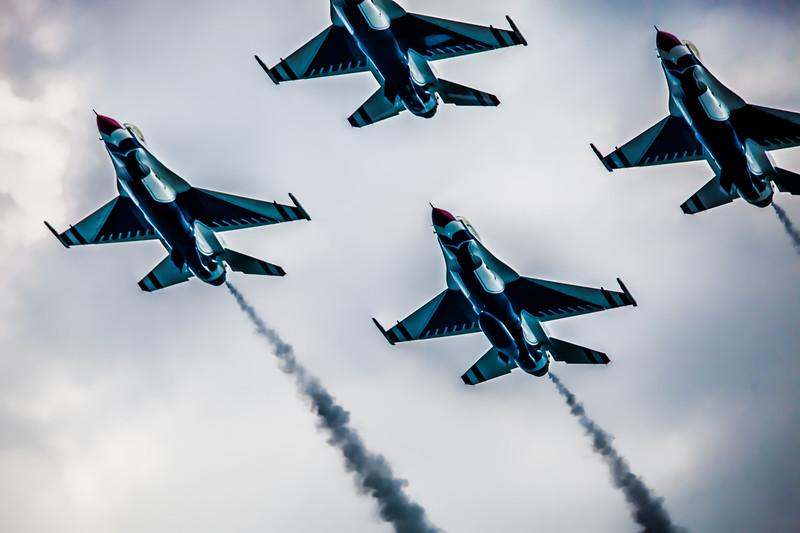 The Thunderbirds Arrive
