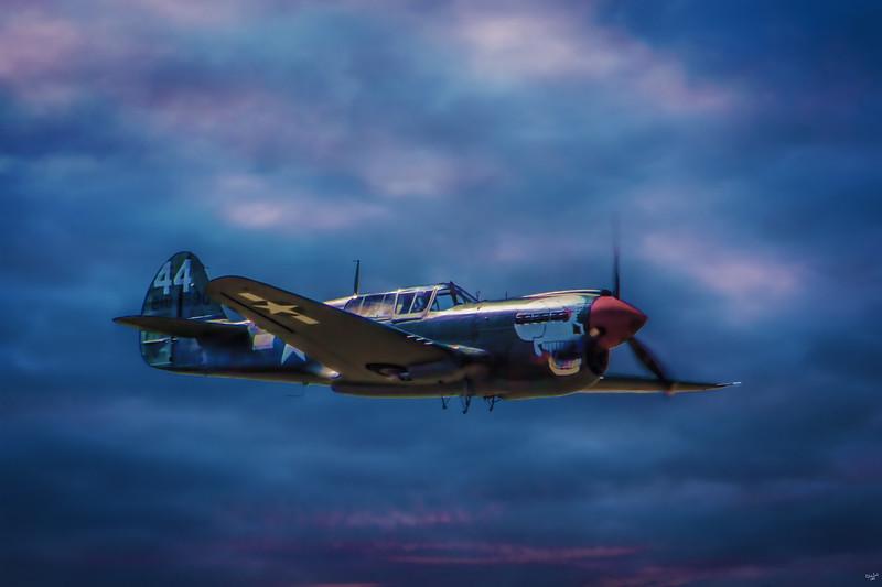Peter Teichman's Curtiss P-40M Kittyhawk