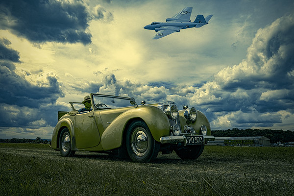 1946 Triumph 1800 Roadster & Canberra Bomber
