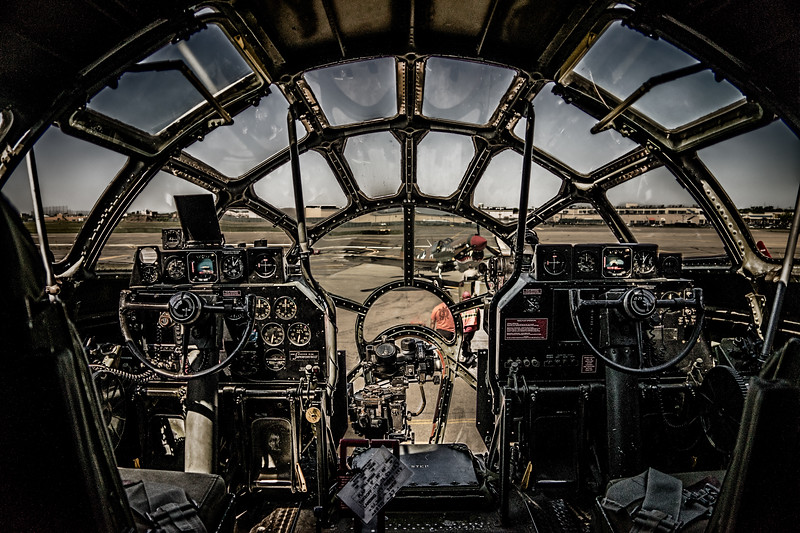 B-17 Superfortress Cockpit