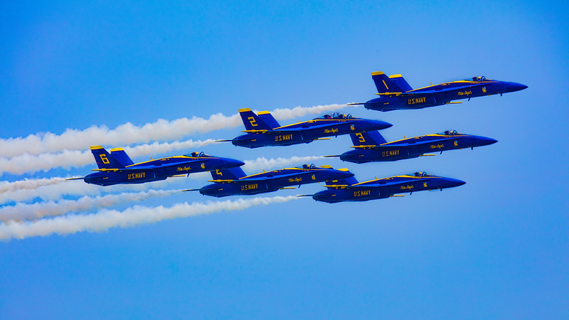 The Blue Angels Head Out