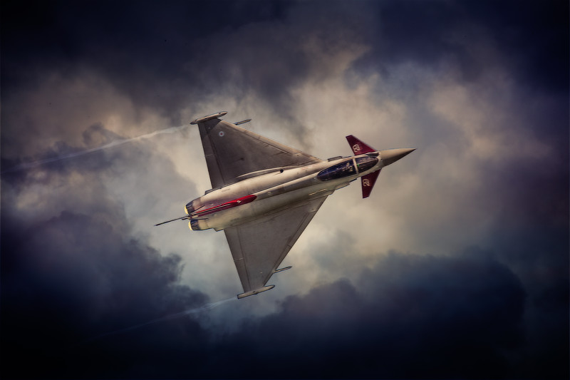 Typhoon In the Clouds