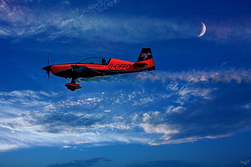 Evening Joyride by Plane