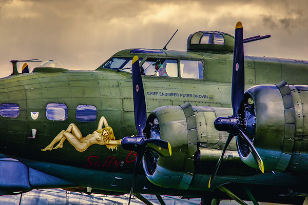 SALLY B Nose Art