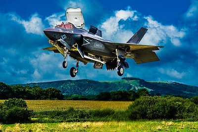 F-35 in Hover Mode