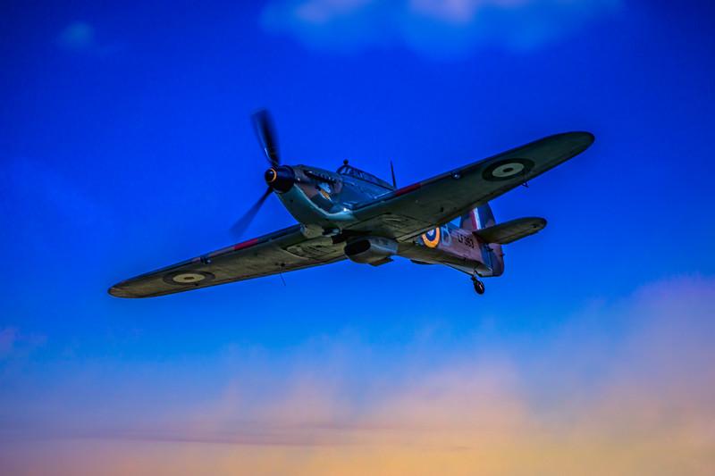 RAF BBMF - Hurricane LF363 (Mk IIc)