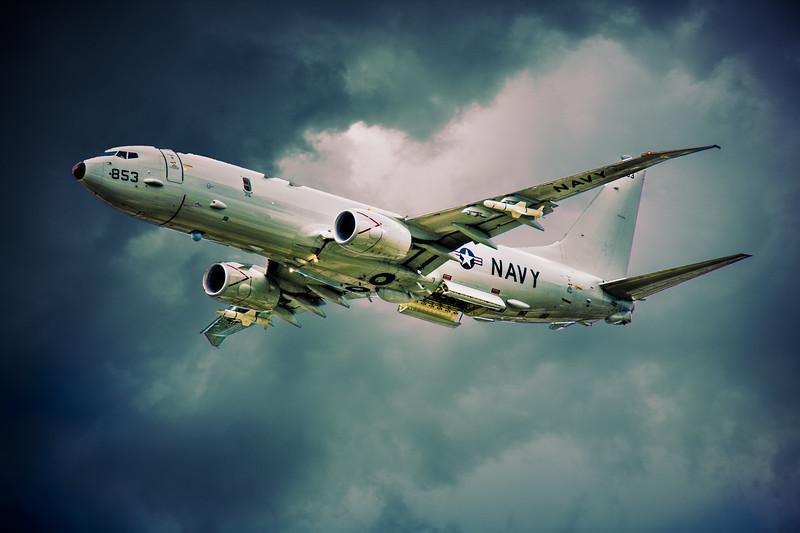 Boeing P-8A Poseidon Maritime Warfare Jet Aircraft