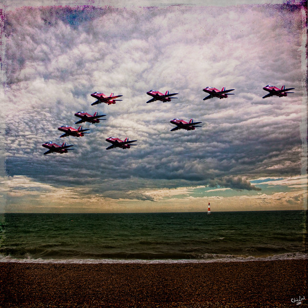 The Red Arrows Coming Home