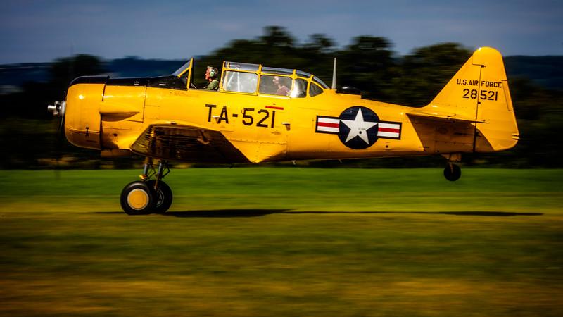 US Air Force North American Harvard MK.4