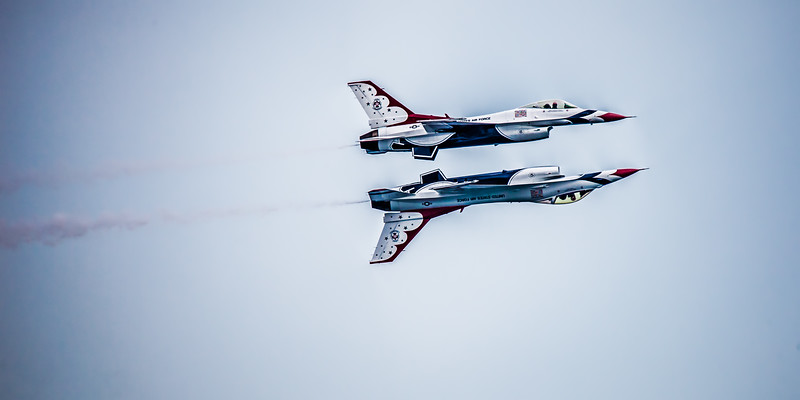 Thunderbirds Mirror Formation