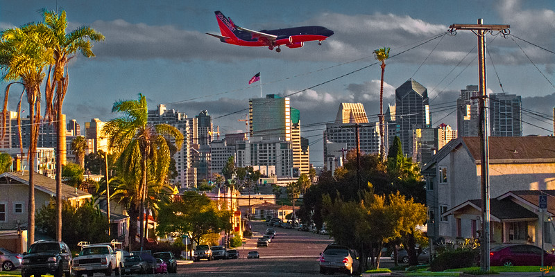 Early Evening, San Diego