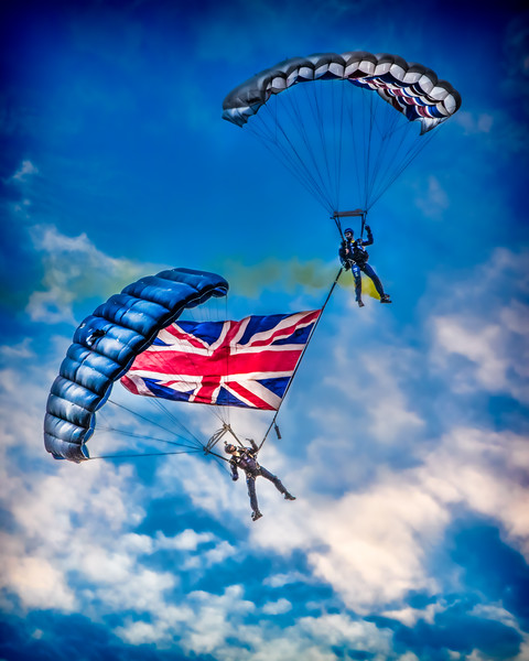 Dropping Through English Skies