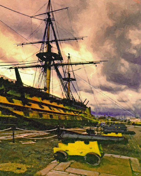 HMS Victory At Portsmouth