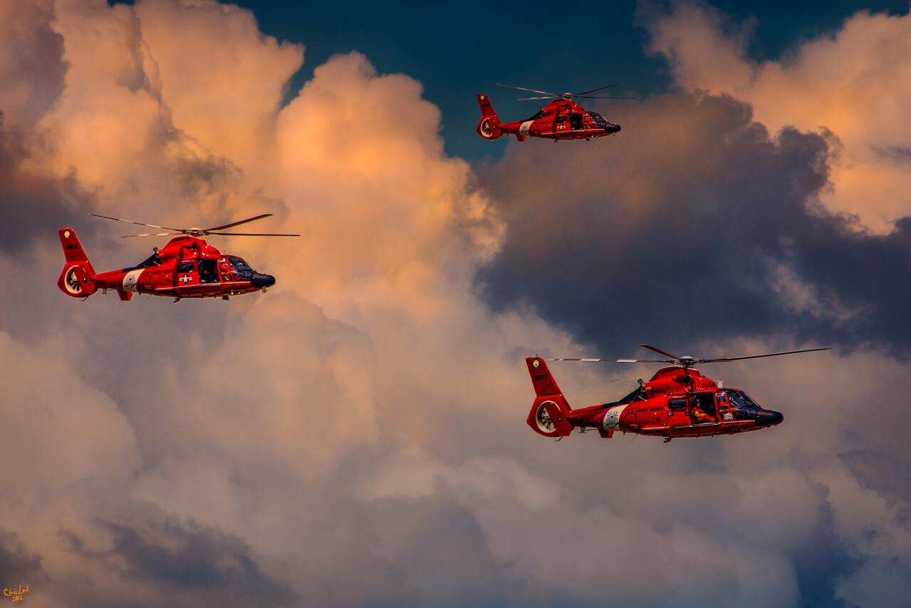 Coast Guard Chopper Patrol