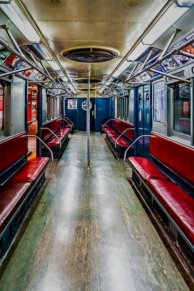 Vintage NYC Subway Car