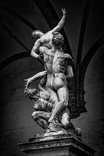Scupture In Florence