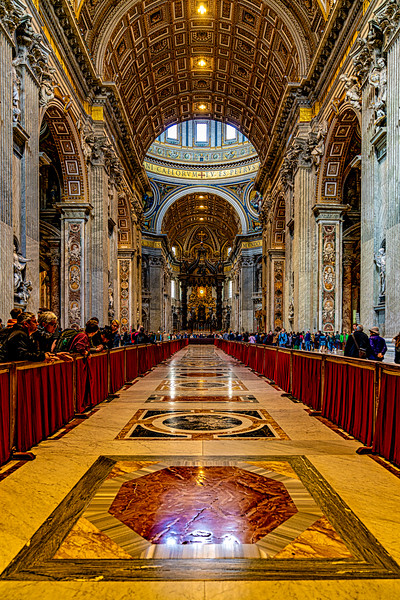 At The Vatican