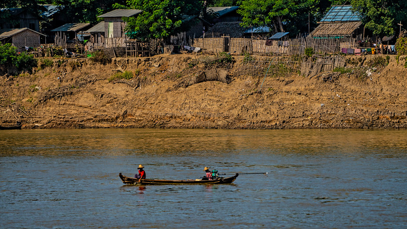 Irrawaddy River, Myanmar December 2018