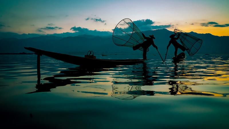 Inle Lake, Myanmar, December 2018