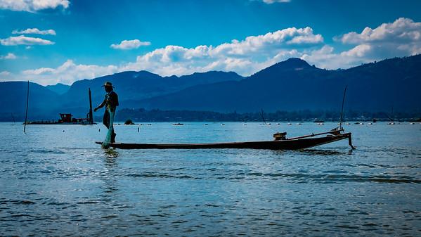 Lovely Inle Lake