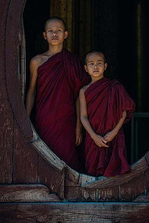 Shwe Yan Pyay Monastery, Nyaung Shwe, Myanmar
