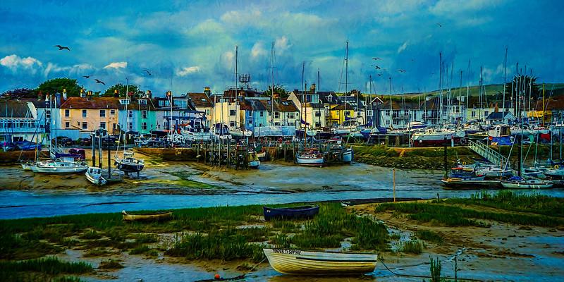 Harbor View - Low Tide