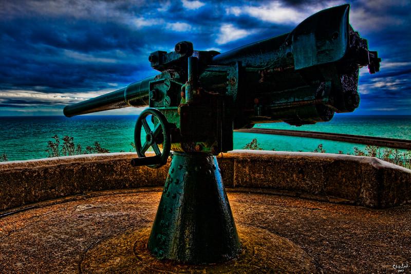 Old World War Gun
