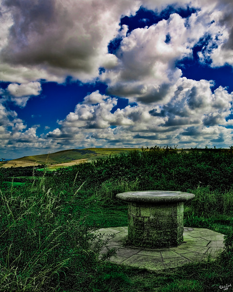 A Lookout Point On The Downs