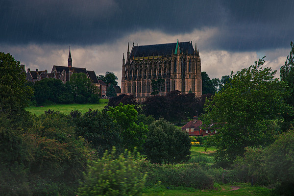 Wet Day At Lancing College