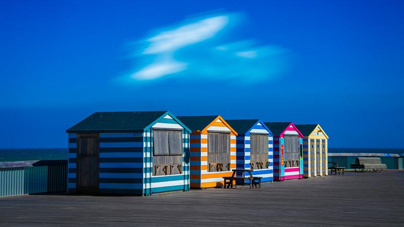 Hastings Pier Huts