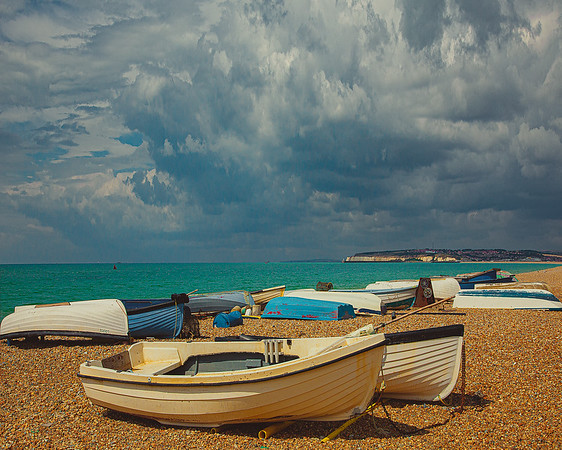Seaford Fishing Boats