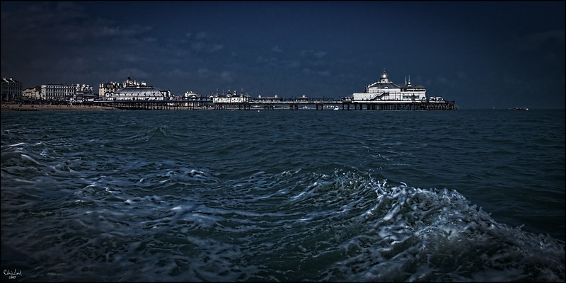 Eastbourne Pier From The Sea