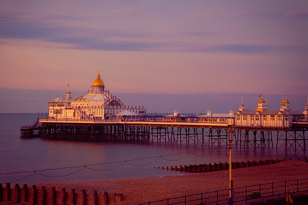 Dawn On The Seafront And Pier