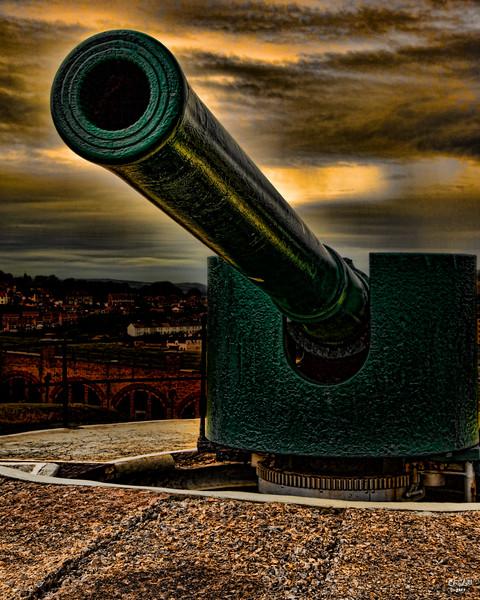 Old WWII Gun