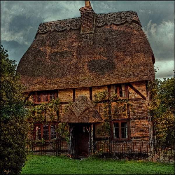 The Pixie House, An Old Thatched Cottage