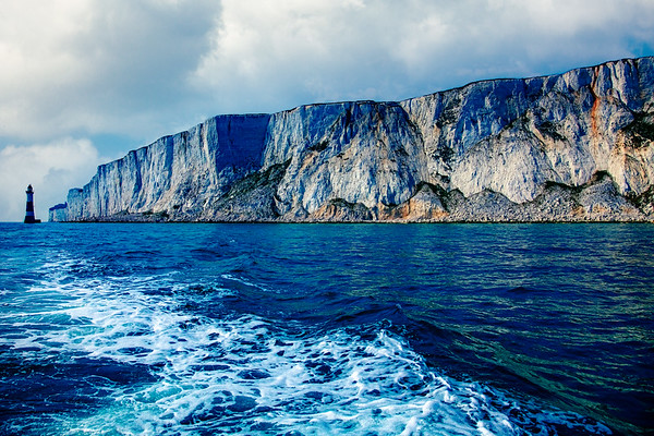 Beachy Head From The Sea