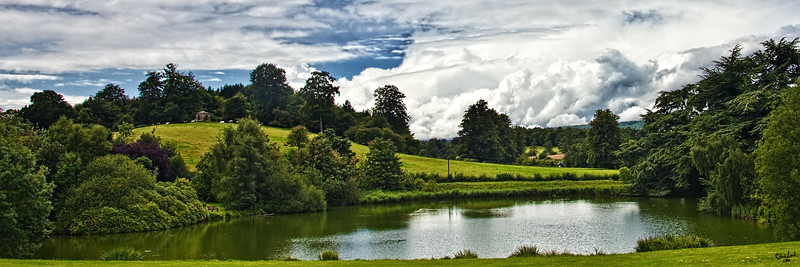 The Manor Pond Landscape