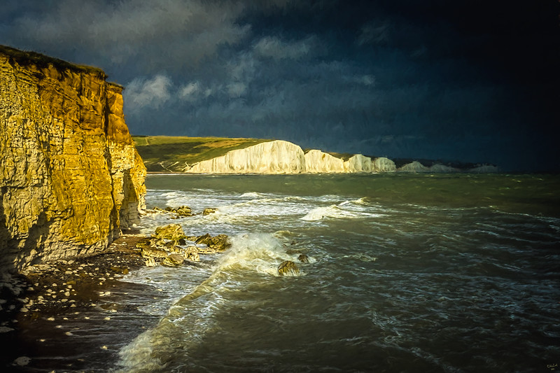 The Seven Sisters From Seaford Head