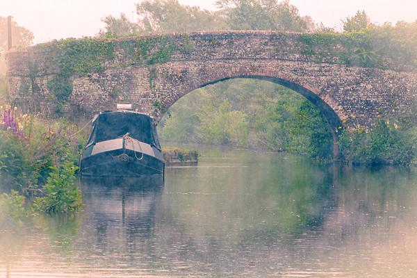 Misty Canal