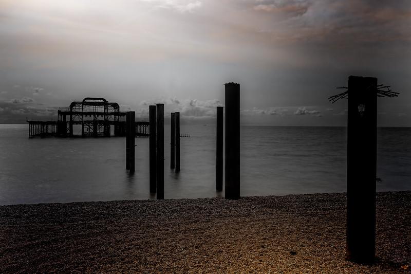 West Pier Ruins