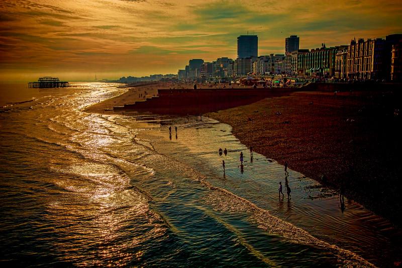 Brighton September Sunset