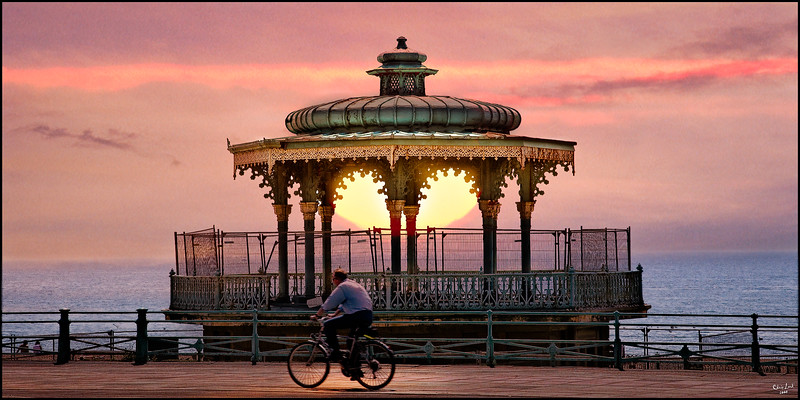 The Old Bandshell at Sunset