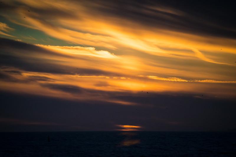 Last Light of Sunset