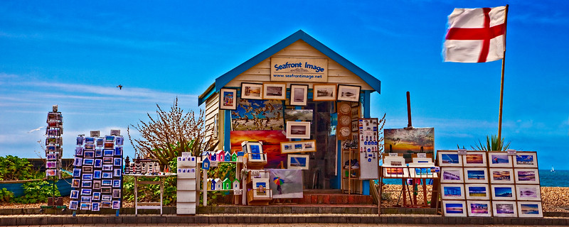 Seafront Images, A Souvenir Photo Vendor